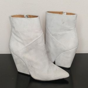 IRO Lasdia ankle boots in cloudy white